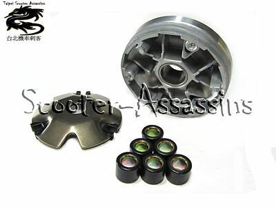 REPLACEMENT VARIATOR plus ROLLERS for PGO XL-Rider 50 2007-2008