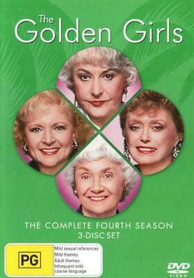 The Golden Girls: Season 4  - DVD - NEW Region 4