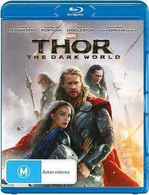 Thor: The Dark World  - BLU-RAY - NEW Region B