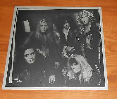 Motley Crue Poster 2-Sided Flat Square 1993 Promo 12x12 Vince Neil