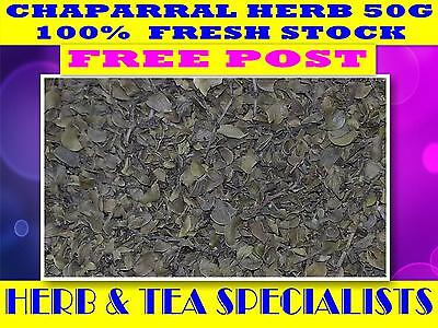 CHAPARRAL HERB 50G☆Larrea tridentata ☆DRIED☆SAVE☆ PREMIUM STOCK☆ FREE POST