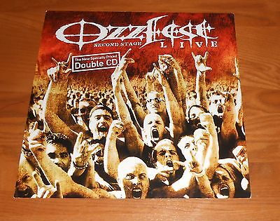 Ozzfest Live Second Stage Poster 2-Sided Flat Square Promo 12x12 RARE