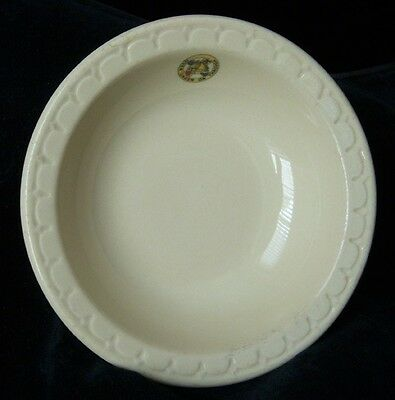 1930s 104th Cavalry Pennsylvania National Guard Vegetable Bowl by Syracuse China