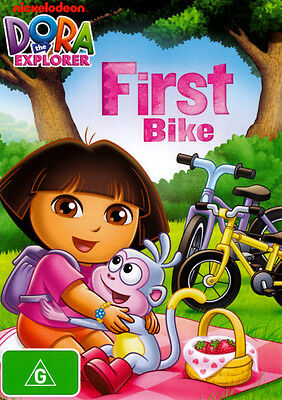 Dora the Explorer: First Bike  - DVD - NEW Region 4
