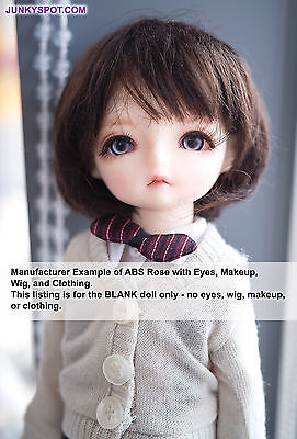 Fall in Doll ABS ROSE Apricot BLANK  27cm Ball Jointed Doll BJD Hujoo USA