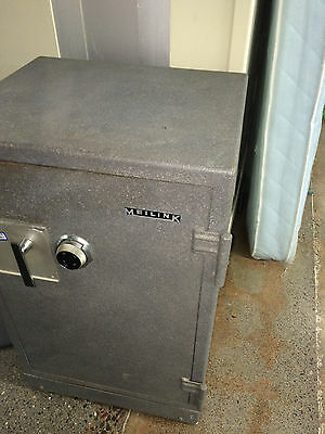 """Vintage Meilink heavy duty commercial floor safe security LARGE approx 38-44"""""""
