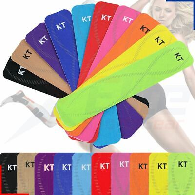 KT Tape Pro - Synthetic Kinesiology Therapeutic Fitness Tape - Precut Strips