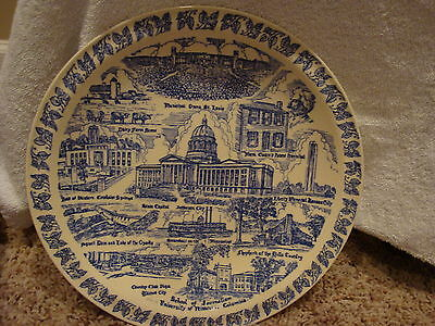 VERNON KILNS SCHOOL OF JOURNALISM  UNIV OF MISSOURI COLUMBIA COLLECTOR'S PLATE