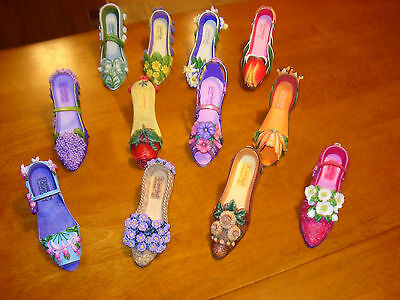 Willow Hall Shoes - Months of the Year Collection - All 12 Shoes * VGC *