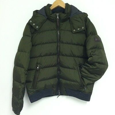 Authentic Coach 82158 Men's Clarkson Down Puffer Jacket Olive Green L $698