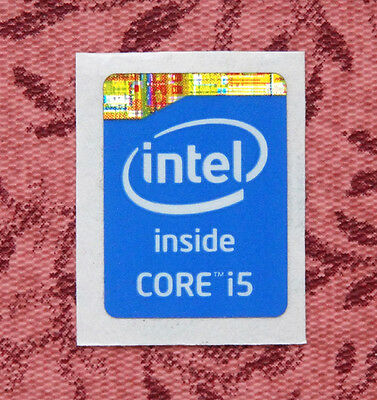 Intel Core i5 Inside Sticker 15.5 x 21mm 2013 Version Haswell Case Badge