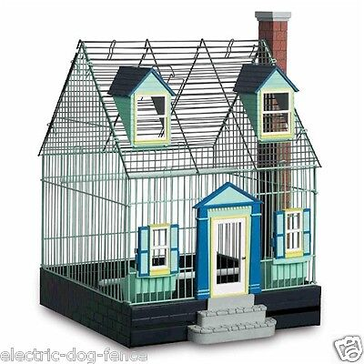 """Featherstone Heights Cape Cod Bird Cage 16"""" L x 16"""" W x 21"""" H by Prevue Hendryx"""