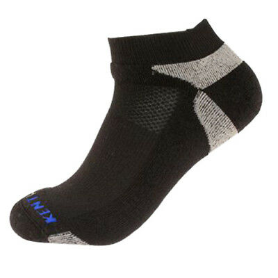 KENTWOOL Men's Tour Profile Golf Socks (Black, X-Large), New