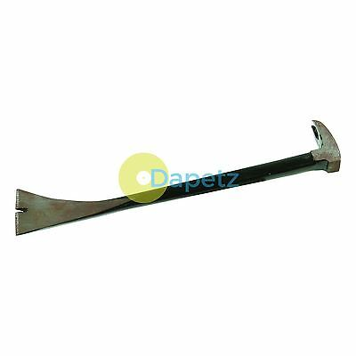 Heavy Duty Wide Blade Pry Bar Crowbar Pry Prying Nail Puller Jimmy Hand Tools