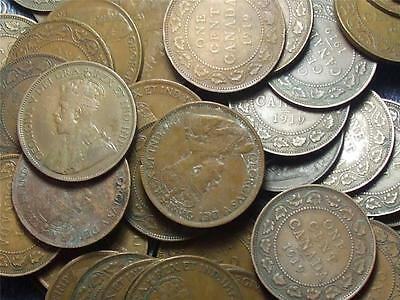 1919 Canadian Large Pennies King George V ------ Buy One Or Buy Them All ------