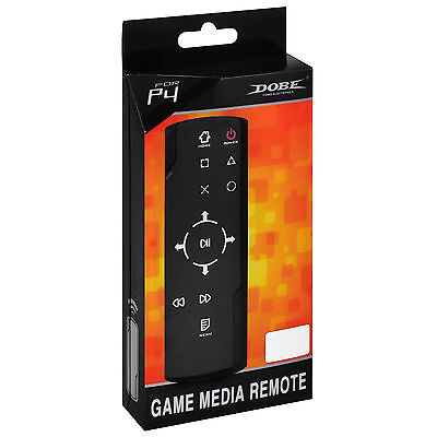 Dobe Bluetooth Game Media Blu-ray DVD Remote Control for Playstation 4 PS4