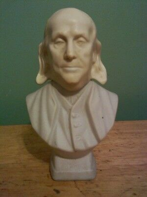 1970s Avon Benjamin Franklin bust cologne bottle-Collectible