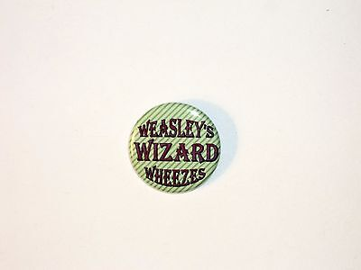 Harry Potter Button Pin- #91 Weasley's Wizard Wheezes