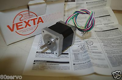 Oriental Vexta Step Motor #pk245-02A  2Phase  0.9Deg/step  0.8Amp  6 Wires