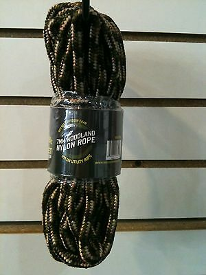 Red Rock Outdoor Gear 7mm Woodland Braided Nylon Utility Rope 50ft. 06-75W