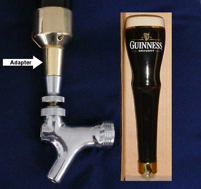 Guinness Draught beer tap handle faucet ADAPTER GLD **READ**