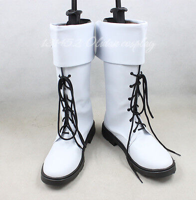 Dramatical Murder DMMD Clear Cosplay Costume Shoes Boots Maximum SizeUS9/25cm