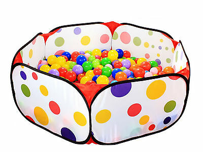 Great Fun Kids Portable Ocean Ball Pit Pool Outdoor/Indoor Childrens Toy Tent