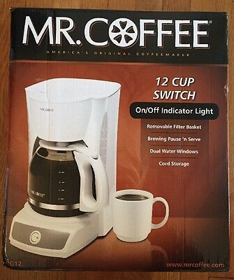 Mr Coffee 12 Cup Switch On/off Indicator Light