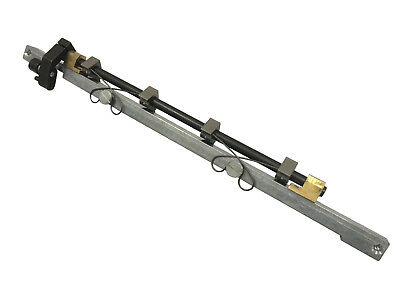 AB Dick 9800 Gripper Bar Complete w/ Fingers / SpringChain Delivery Offset Parts