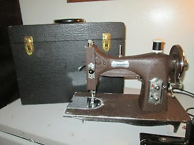 Vintage Domestic Rotary Sewing Machine 153 Series With Case Works