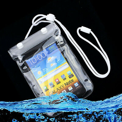 Mobile Phone Waterproof Dry Bag Case Transparent With Scrub for Smartphones OK