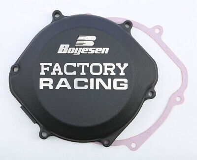 Honda CR500 1987-2001 Boyesen Factory Racing Clutch Cover Black CR 500 CC02B