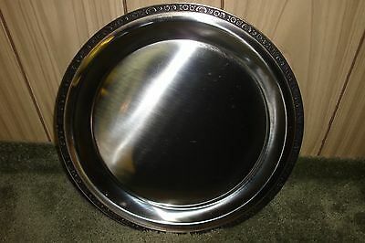 Oneida Custom Round Serving Tray 18/8 Stainless Steel
