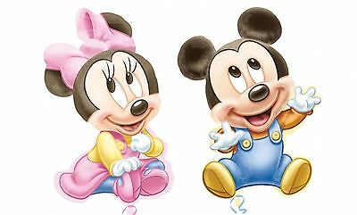 2 BABY MICKEY & MINNIE 1st BIRTHDAY BALLOON PARTY SUPPLY DECORATION FAVOR PRIZE