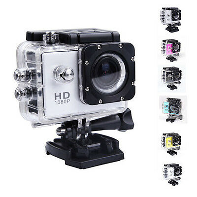 Top J4000 HD1080P Bicycle Helmet Sports DV Action Camera Video Waterproof