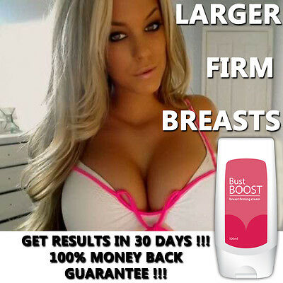 Bust Boost Breast Enlargement Cream Lotion Bigger Firmer Sexy Boobs Fast!!