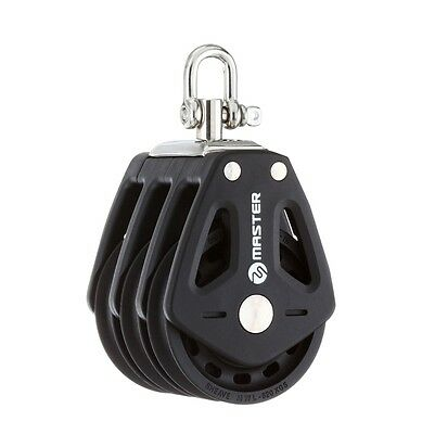 50mm Triple Swivel Shackle Block - Master BP-0505F