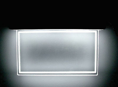 Led In/outdoor Acrylic Lighted  Plaque For Address Or Personalized Lighted Sign