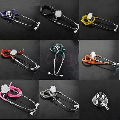 Home Medical Double Head Stethoscope Tool Pro Nurse Doctor First Aid Training