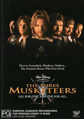 The Three Musketeers (1993) (Remastered)  - DVD - NEW Region 4, 2