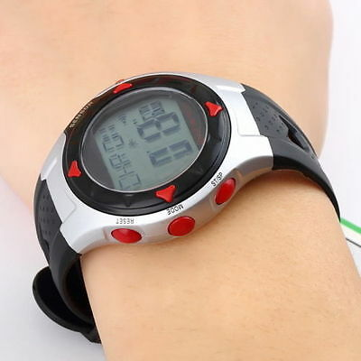 Waterproof Pulse Heart Rate Monitor Watch Calorie Counter Sport Exercise EA