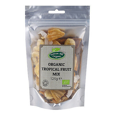 Organic Tropical Dried Fruit Mix 125g Trail Mix