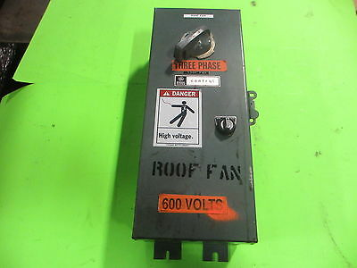 General Electric #CR108C206DCA Size 1 600V Fusible Combination Starter