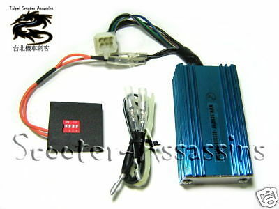 ADJUSTABLE RACE SPORT CDi BOX for PGO G-Max T-Rex Rodoshow NEW