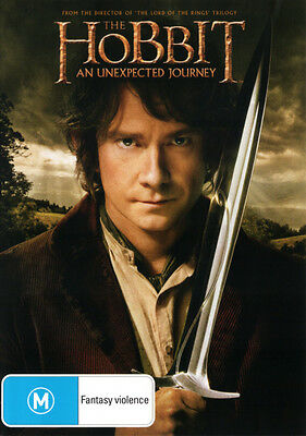 The Hobbit: An Unexpected Journey  - DVD - NEW Region 4