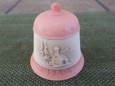 Goebel Hummel #775 1989 First Edition Christmas Bell, New In The Box