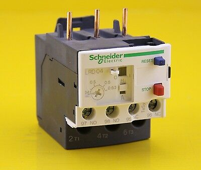 Schneider Electric Thermal Overload Relay  LRD04 , 0.63A  690V AC  DC - 034674