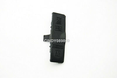New Repair Part For Nikon D3100 Left Cover Rubber USB HDMI GPS A/V Out Cover