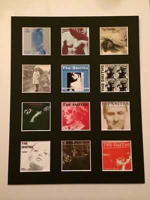 "The Smiths 14"" By 11"" Lp Discography Covers Picture Mounted Ready To Frame"