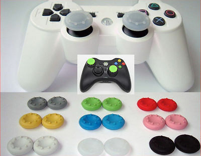 8 x Analog Controller Cap Cover Thumb Stick Grip For Sony PS3 PS4 XBOX ONE/360